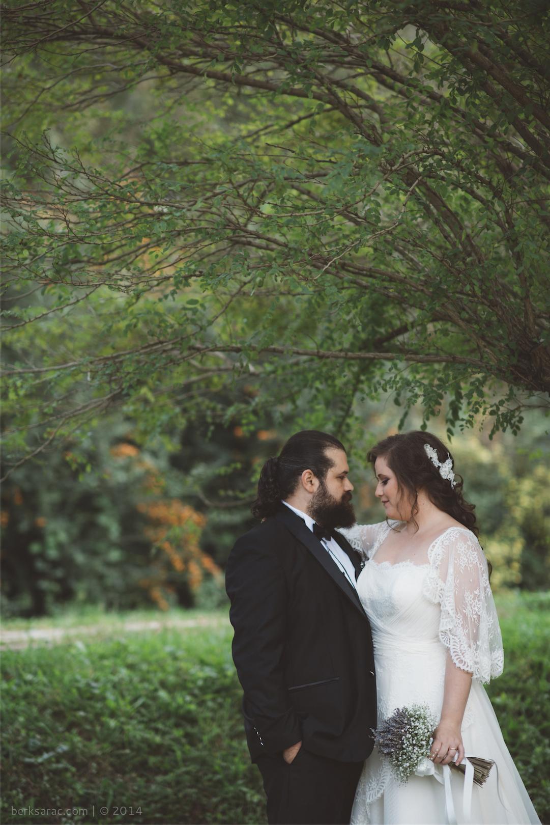 Sonbahar Dış Mekan Düğün Fotoğrafı