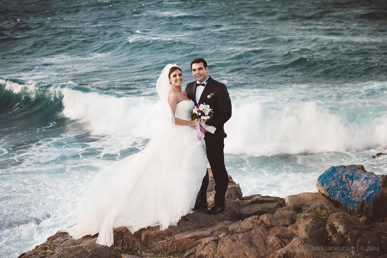 avrupa yakası dış mekan düğün fotoğrafı