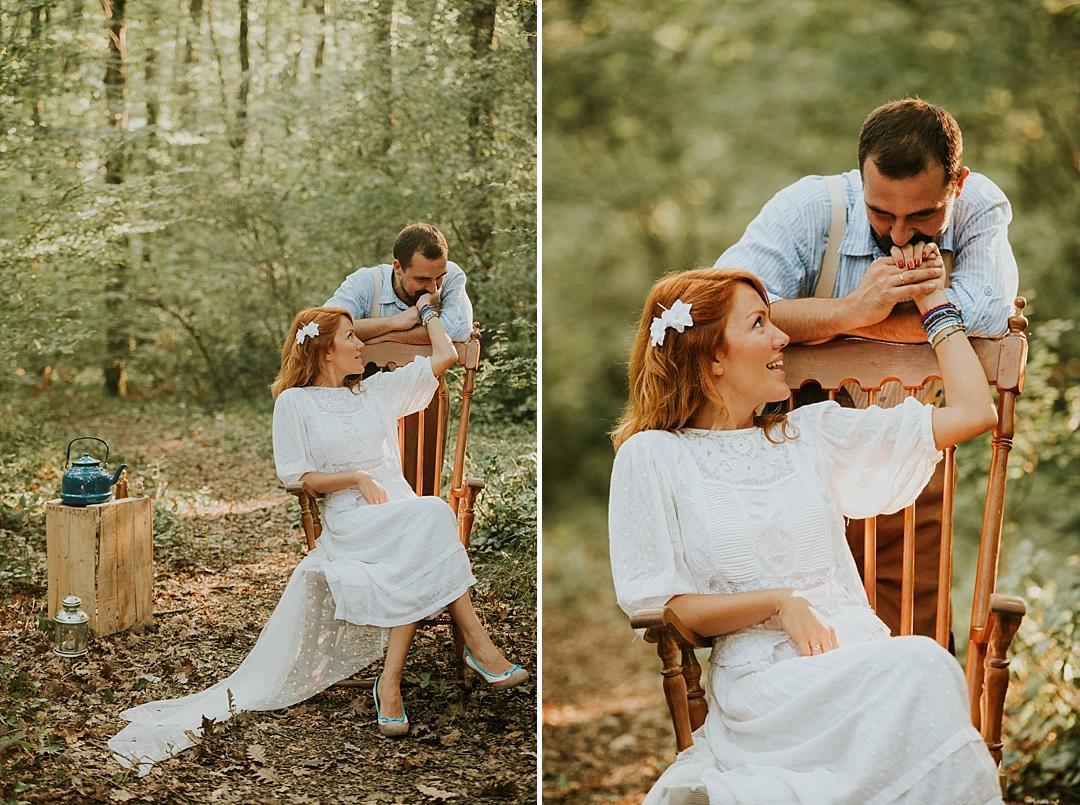 rustik düğün